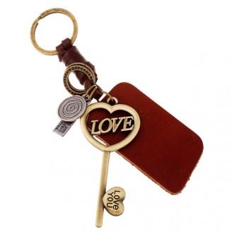 Ключодържател с любовен ключ