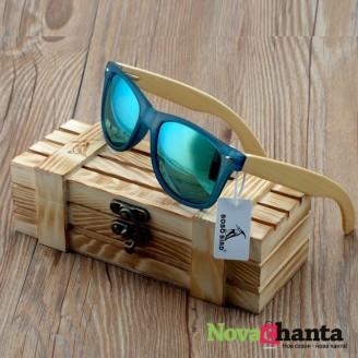 Унисекс свежи очила с дървени рамки - 3 модела