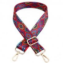 Цветна дръжка за дамска чанта