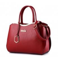 Червена или синя стилна дамска чанта