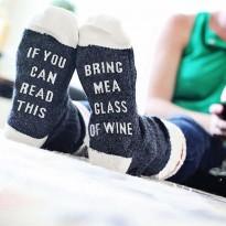 Готини чорапи - донеси ми вино