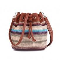 Дизайнерска луксозна дамска раница - чанта