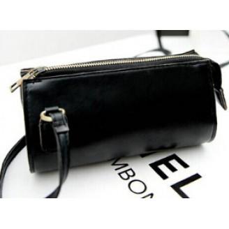Малка черна или кафява дамска чанта