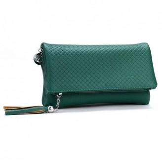 Малка вечерна дамска чанта в три цвята
