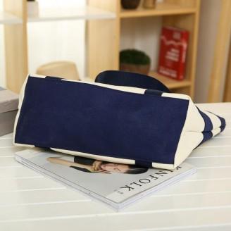 Лятна чанта с подарък портмоне - 2 цвята