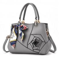 Луксозна дамска чанта с роза - Castelluccio