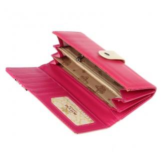 Жълто или розово дамско портмоне