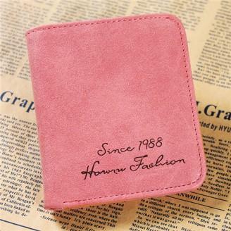 Розово малко дамско портмоне