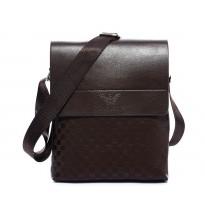 Стилна мъжка кафява чанта