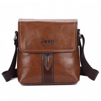 Кафява мъжка чанта Jeеp