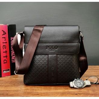 Мъжка черна чанта POLO