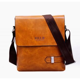 Светлокафява мъжка чанта BLLR