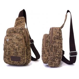 Мъжка чанта за студенти с много джобове