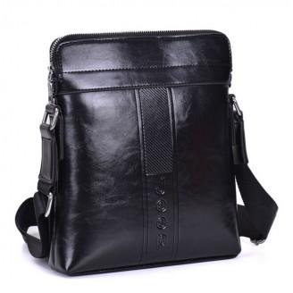 Стилна мъжка чанта Jeep- черна или кафява