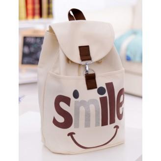 Текстилна дамска раница Smile